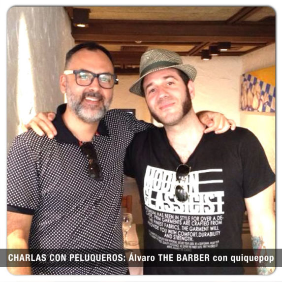 CHARLAS CON PELUQUEROS Alvaro THE BARBER con quiquepop