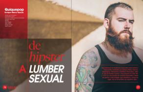 01 de hipster a lumbersexual II by quiquepop revista coiffure mayo 2015
