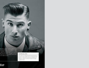 03 - 2016 REVISTA COIFFEUR peluqueria quiquepop alicante JUNIO LEATHER TOO