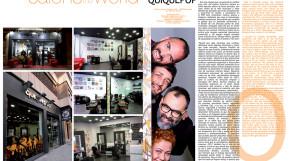 """Revista Peluquerías """"quiquepop en peluquerías del mundo"""