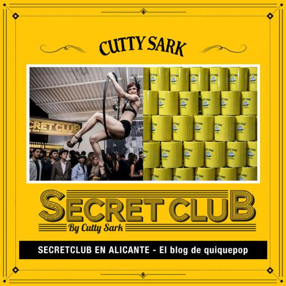 FIESTA SECRETA CUTTYSARK ALICANTE El blog de quiquepop