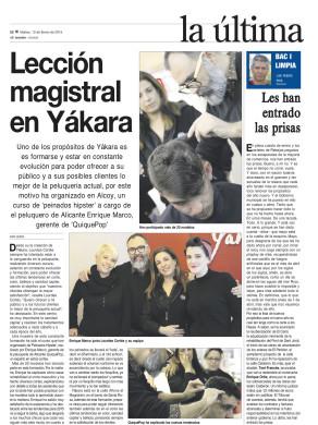 Reportaje quiquepop alicante Periodico El Nostre Alcoy