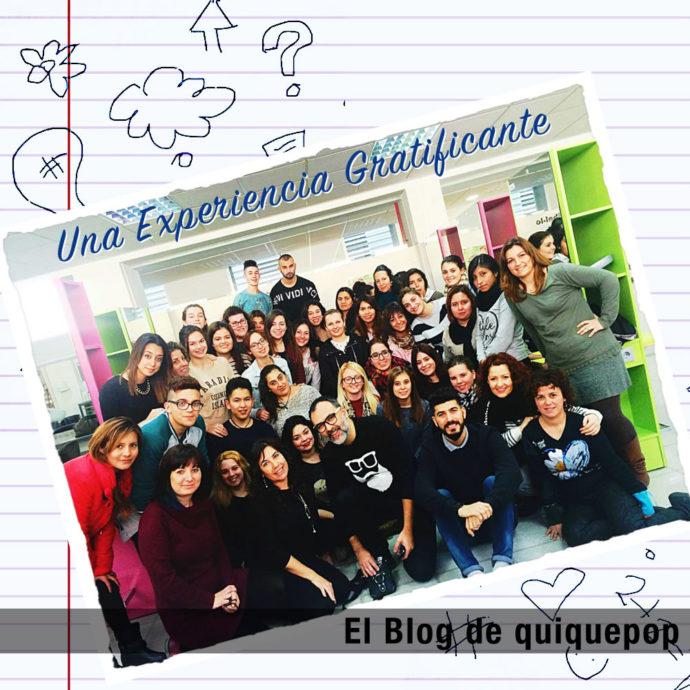 Una Experiencia Gratificante - El Blog de quiquepop