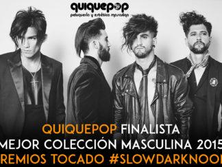 quiquepop finalista premios tocado barcelona 2015 coleccion SLOWDARKNOON
